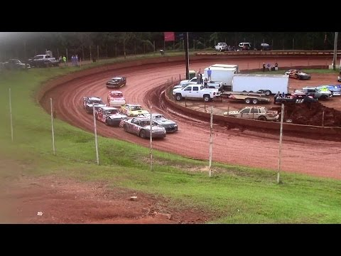 Winder Barrow Speedway Modified Street Feature Race 10/11/15
