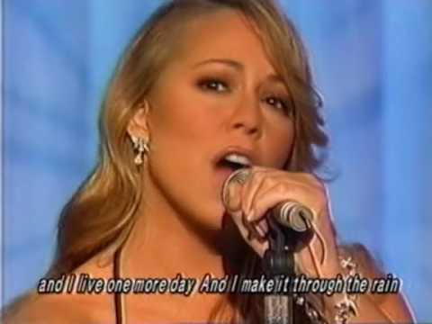 Mariah Carey - Through The Rain (Live At Music Station Japan) 11/29/02