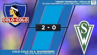 Transición Fecha 9: Colo Colo vs S. Wanderers #ConclaveDeportivo - Relatos: Fabián Astudillo