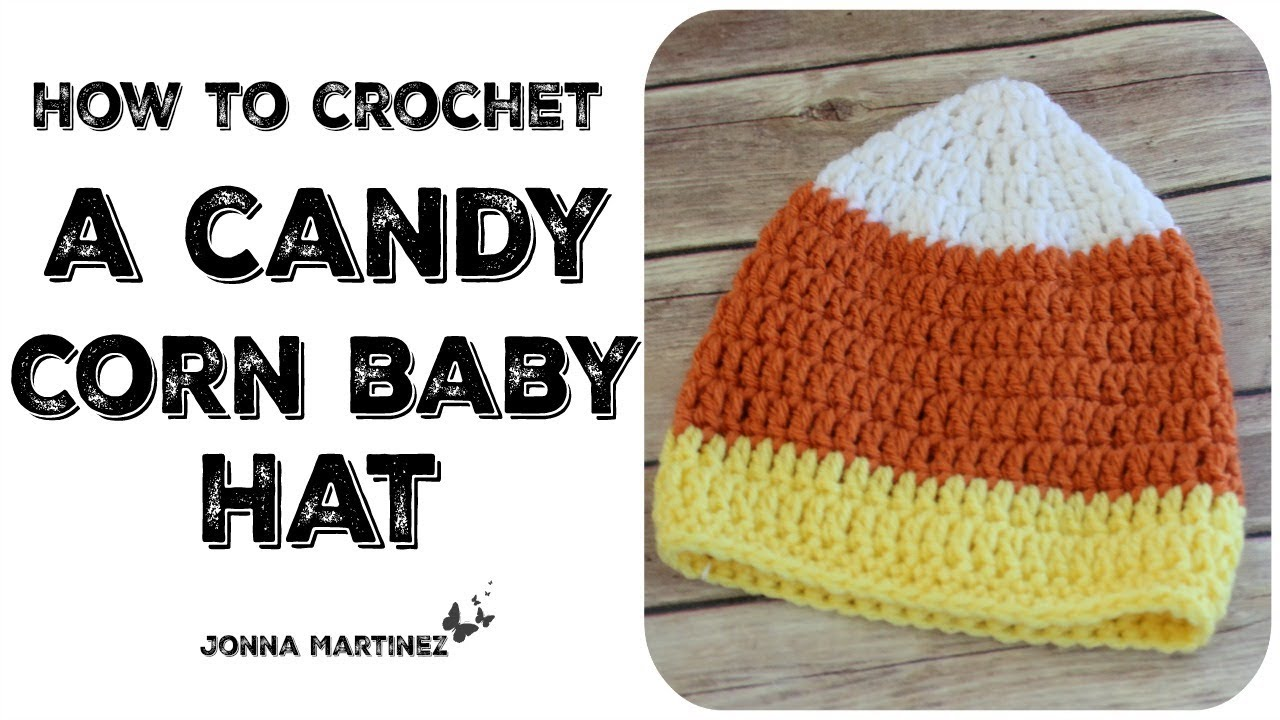 Candy Corn Baby Hat Knitting Patterns Cocoon
