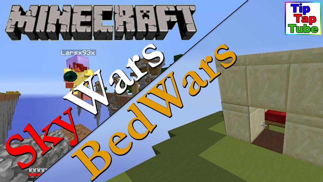 Skywars Und Bedwars Runde Let S Play Minecraft Gommehd
