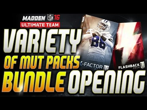 MUT 16 | 2 x Flashback, X-Factor, Game Changer, RTTP, Pack Openings!!!