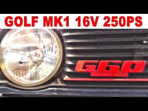 VW Golf Mk1 16V mit 250Ps – G Lader 16V Tuning