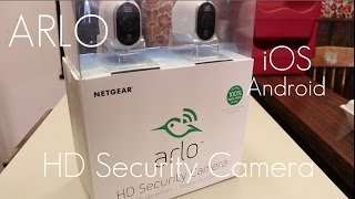Best Consumer Friendly Security Camera? - Netgear Arlo HD Security Camera - In-depth Review