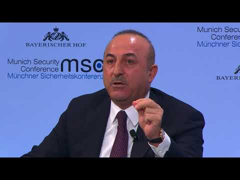 Turkish FM says US should stop supporting YPG