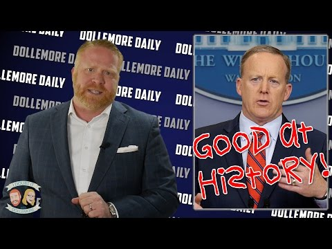 Thumbnail: History Genius, Sean Spicer Lets Hitler Off the Hook - #DollemoreDaily