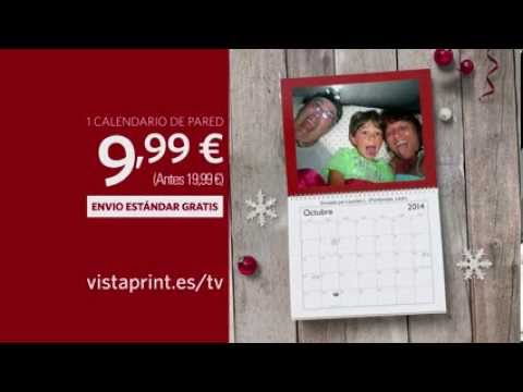 Anuncio de televisión de Vistaprint: calendarios de pared 2014