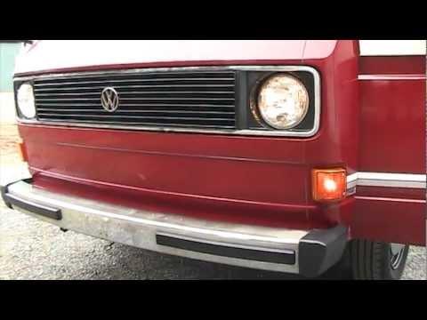 Walk Around Volkswagen VW Vanagon 1983 For Sale