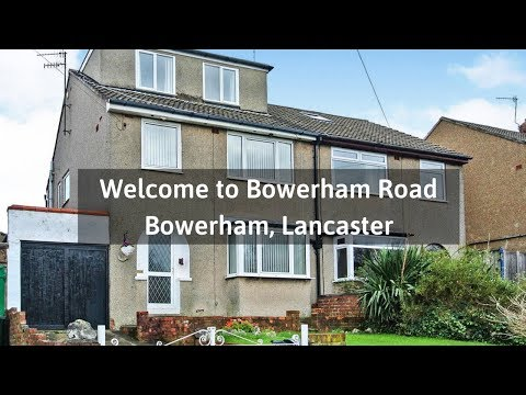 Welcome To Bowerham Road, Bowerham, Lancaster