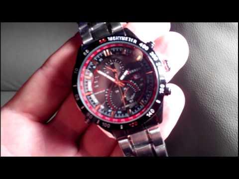 c259263fcbce67 Zegarek Curren 8149 - YouTube
