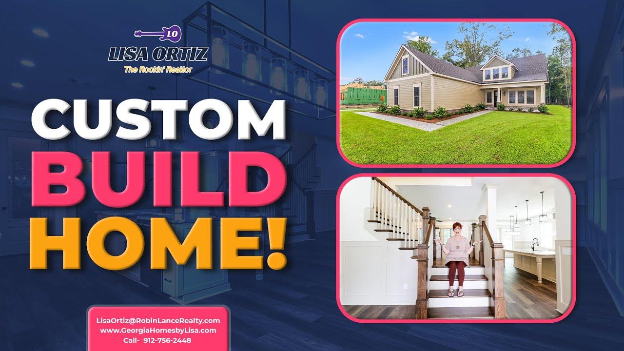 Custom Build Homes in Savannah Georgia!