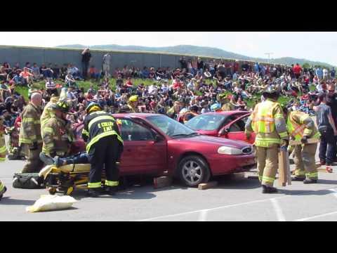 2015 Bellefonte Area High School Mock Accident