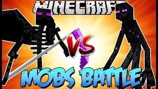 Enderman กลายพันธ์ุ vs ยมทูต Enderman | Minecraft - Mobs Battle