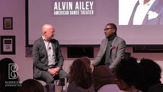 Alvin Ailey Artistic Director Robert Battle at Blumenthal Business Leaders for the Arts