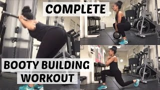 vuclip Complete Booty Building Workout | Bribaebee Fitness