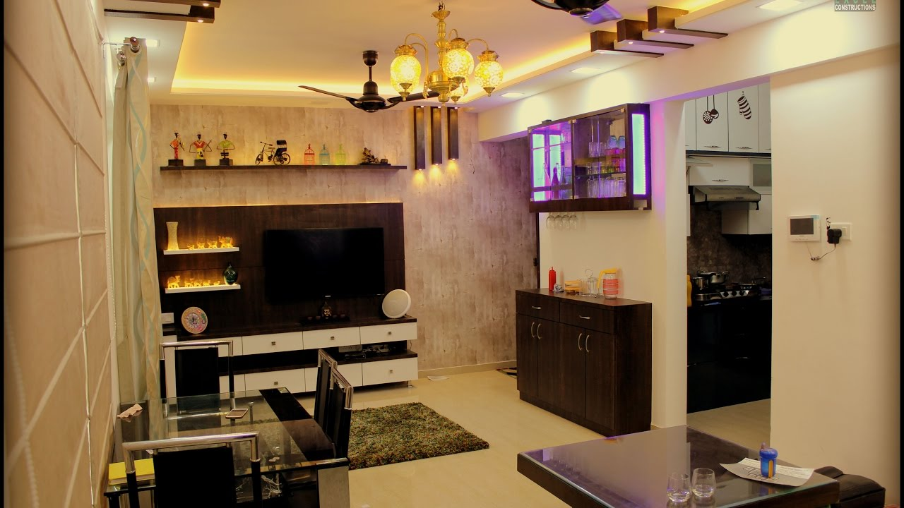 2 BHK Apartment Interiors I Royal Entrada L Wakad Pune
