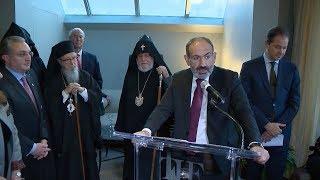 "Prime Minister Nikol Pashinyan visits the ""Armenia!"" exhibition at the New York MET"