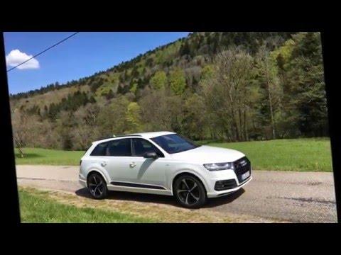 Sightseeing um den neuen Audi SQ7 - Modell 2017
