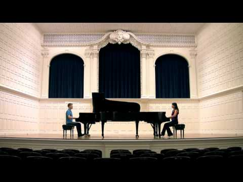 Mozart's SONATA for TWO PIANOS - Anderson & Roe