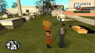 Loquendo Gta san andreas - Goku vs Scream,Nemesis,Saw Parte 3