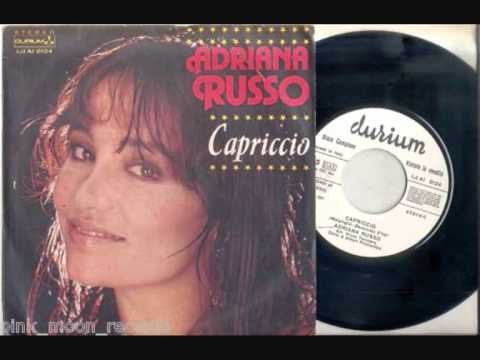 Adriana Russo Capriccio 1981 Wmv Youtube