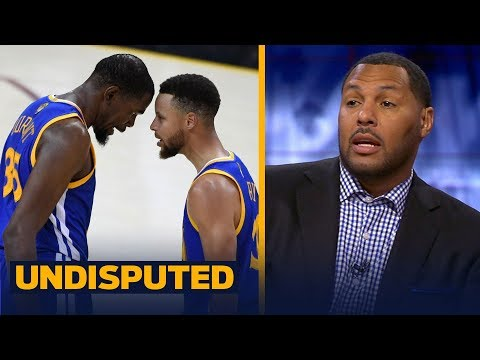 Eddie House on who's the most important Warrior: Curry or Durant | NBA | UNDISPUTED