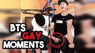 BTS GAY MOMENTS