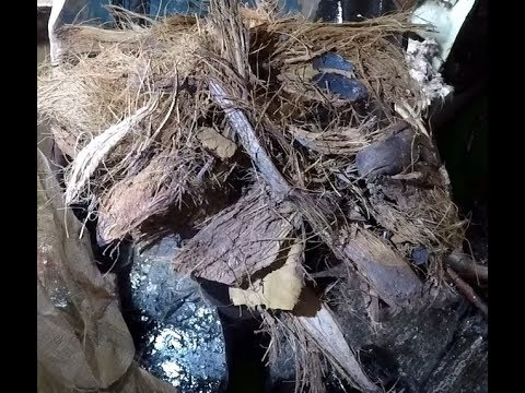 "Tug boat ""Troll"" Wreck sinking Carriacou Grenada with Lumbadive (Coconut Husk)"