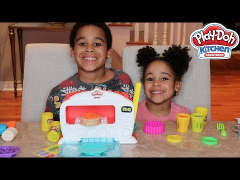 Play-Doh Magical Oven Pretend Play with FamousTubeKIDS