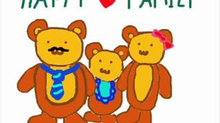 3 bears song korean ver.(children song)