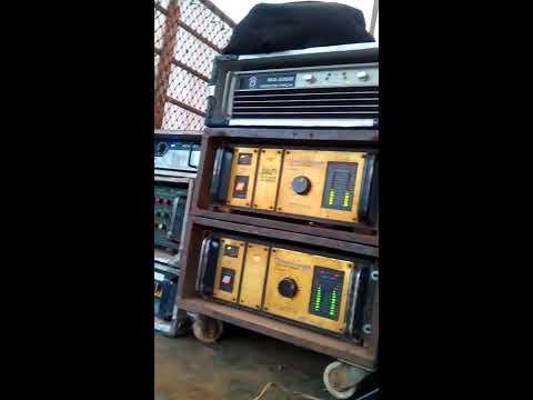เครื่องเสียงกลางแจ้ง งานบวช กับซับ KT 118