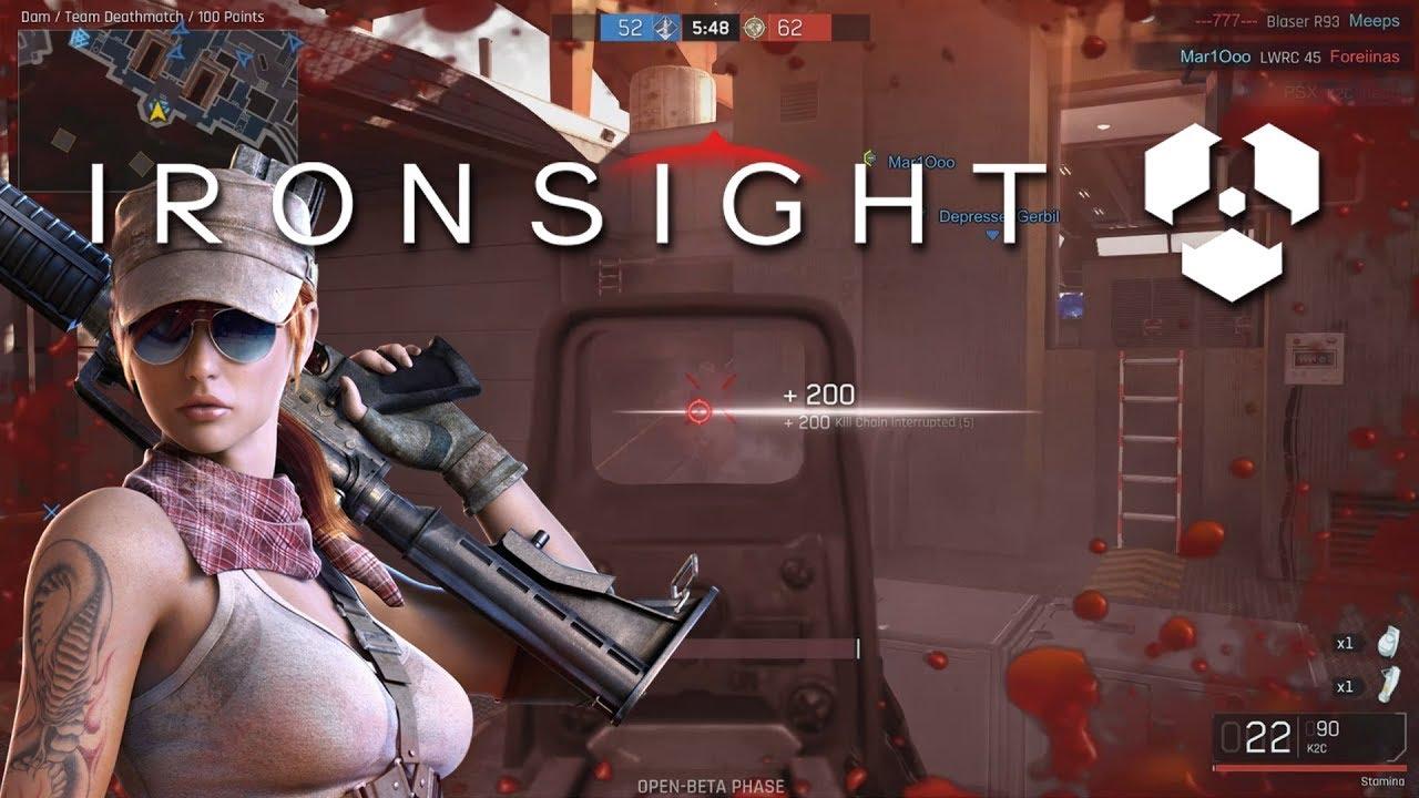 Ironsight Open Beta
