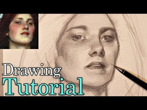 How To Draw Like a Painter   (Start-Finish) Real Time Tutorial thumbnail