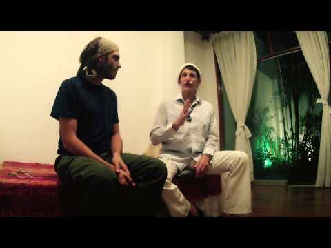 Dr Gabriel Cousens interview at the Tree of life in Lima, Peru