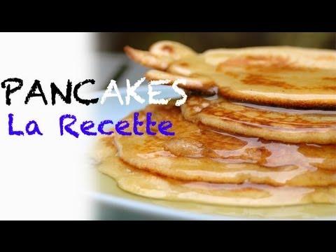 Recette : pancakes maison