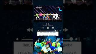 lagu BTS yang judulnya GO GO  versi RAMADHAN