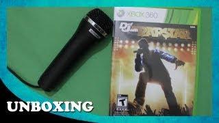 Unboxing - Def Jam Rapstar - Bundle (com Microfone) | Xbox 360