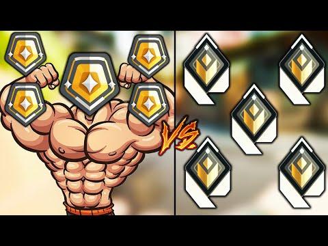 Valorant: 5 Raid Boss Gold VS 5 Radiant Players! - Who Wins?
