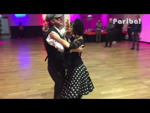 Paribal - danses de bal musette initiation - démonstation