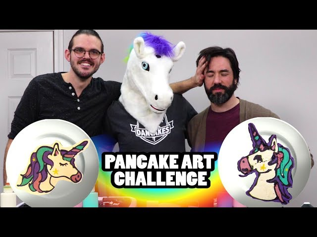 PANCAKE ART CHALLENGE - Unicorn Mask, Matt Basler