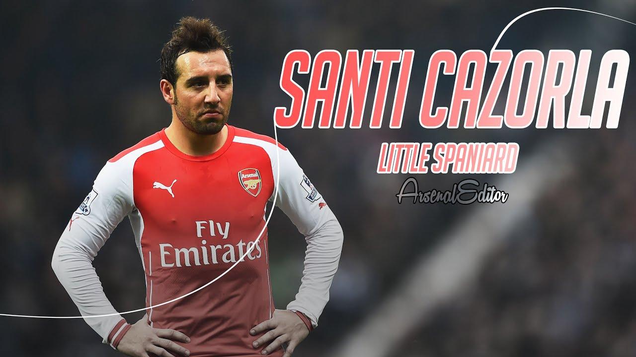 Santi Cazorla Little Spaniard