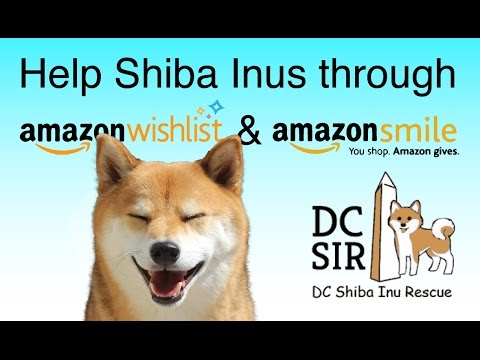 DC SIR: Amazon Wish List and Amazon Smile 2016 - 2017
