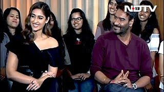 Spotlight: Ajay Devgn and Ileana D'Cruz Talk About Their Film Baadsaho