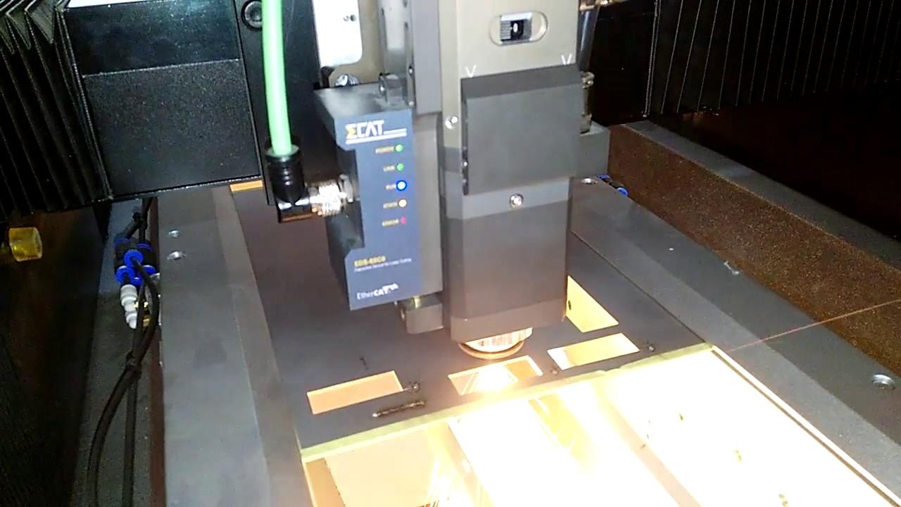 2mm Stainless Steel Laser Cutting 500w Precise Fiber Cut Machine Circuit Board China V