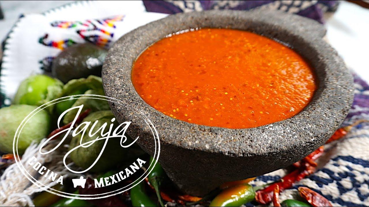 Salsa Taquera de Chile de Arbol  YouTube