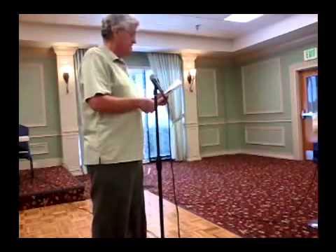 SENOR JORGE HERNANDEZ AND CILLE FERNANDEZ AT THE LATIN AMERICAN SING ALONG