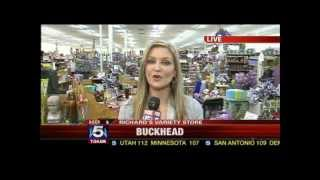 Richards Variety Store Featured on Fox 5 Live Road Warrior