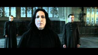 Harry Potter and the Deathly Hallows part 2 - Snape