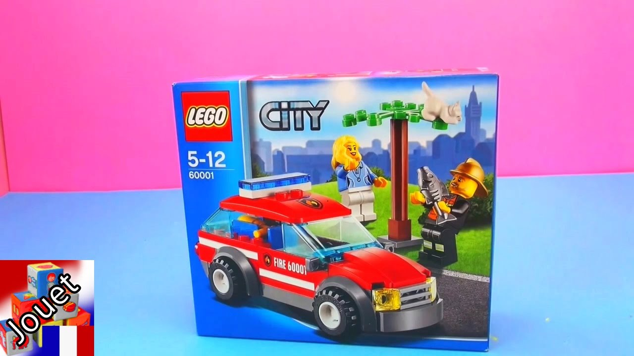 voiture de pompier lego city unboxing voiture de pompier de lego youtube. Black Bedroom Furniture Sets. Home Design Ideas