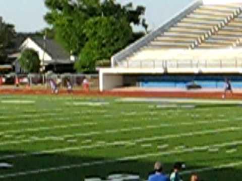 John Curtis Christian School 8th grade track team